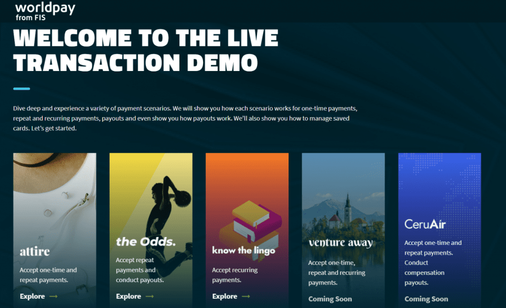 Welcome to the love transaction demo