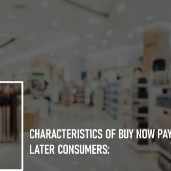 Characteristics of Buy Now Pay Later Consumers: